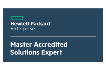 HP Master Accredited Solutions Expert (Master ASE)