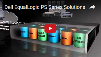 Dell EqualLogic PS Series Solutions [Youtube]